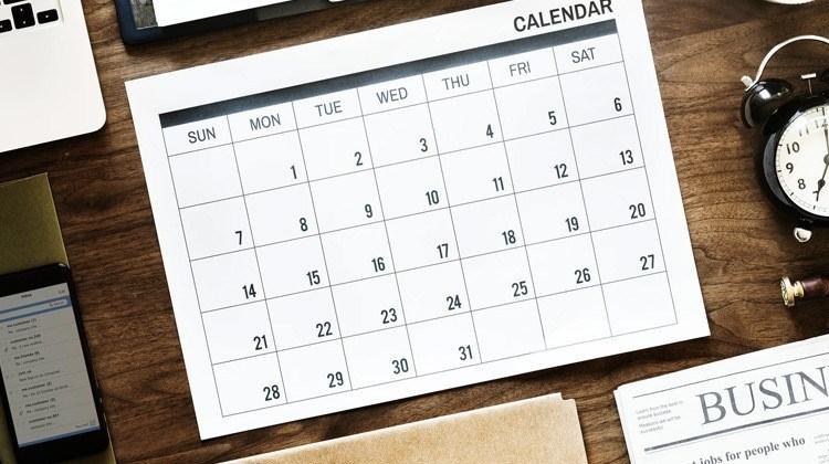définition contrat à terme illustration calendrier