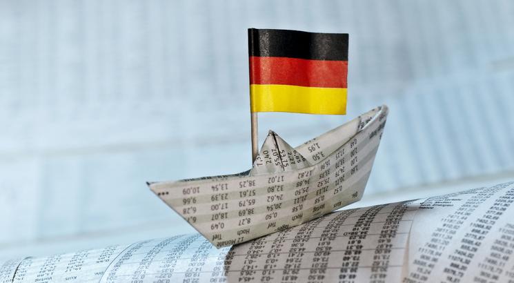 euro bund future illustration cours papier allemagne