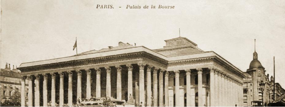 La bourse de paris cotations de a à z - photo ancienne place de la bourse