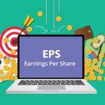earnings per share illutstration vecteur