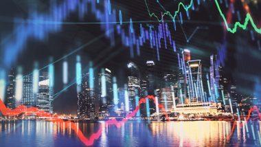 futures bourse illustration ville futuriste