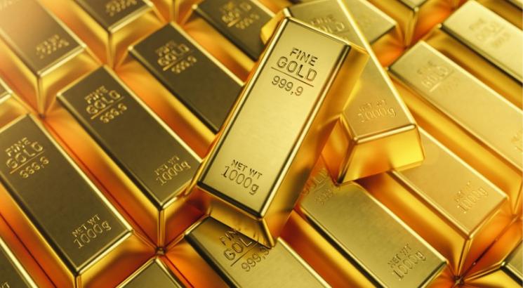 prix de l'or illustration lingots d'or