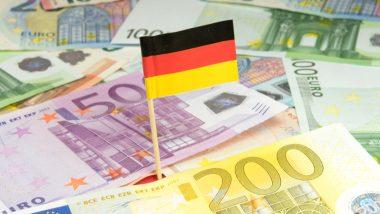 meilleures actions allemandes illustration drapeux billets
