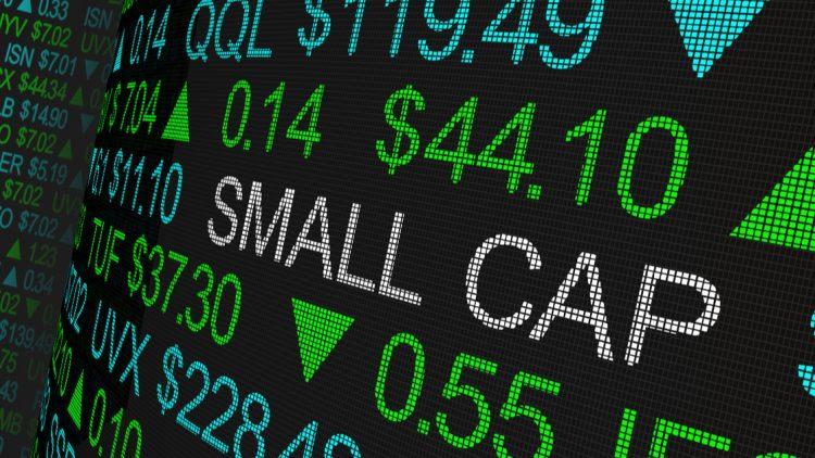 small caps illustration écran de trading