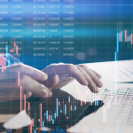 logiciel de trading automatique - plateforme de trading automatique - illustration écran graphiques