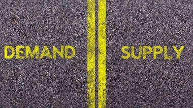 Supply and demand - loi de l'offre et de la demande - offre et demande - illustration route