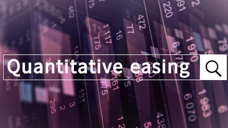 assouplissement quantitatif définition - illustration barre de recherche