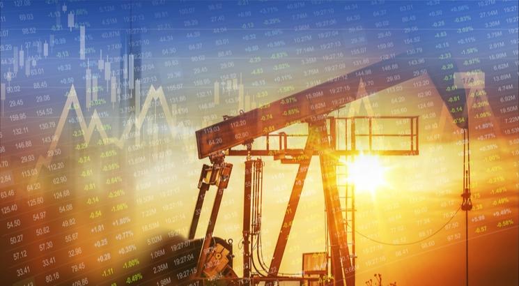 action petrole bourse - action shell - illustration miniature graphique
