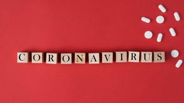 coronavirus économie - bourse et coronavirus - coronavirus trading - illustration cubes bois