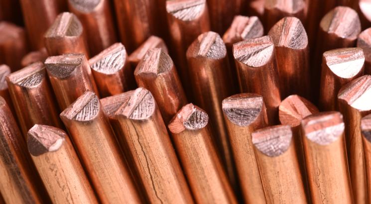 Prix du cuivre - cours du cuivre - investir dans le cuivre - illustration fibres de cuivre