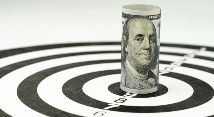 stratégie forex - flechettes cible billets - article 7 Forex eBook