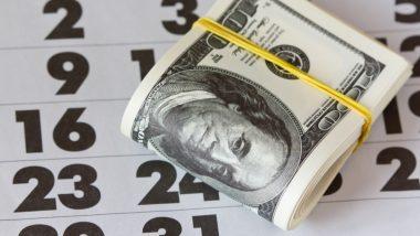 Dollar cost averaging - investissement programmé - illustration billets chiffres