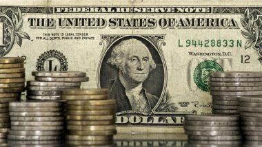 euro dollar future - euro dollar forex - illustration billet dollar pile de pièces euro