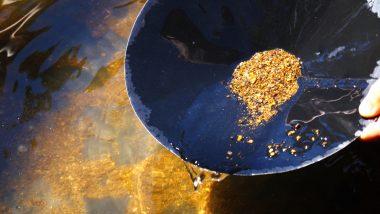 action mine d'or - action minière - filtrage or