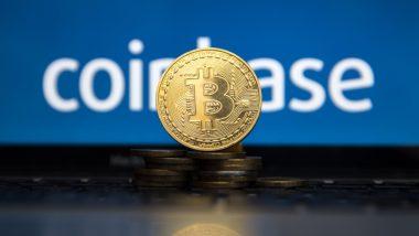 action coinbase - coinbase - illustration pile de pièces fond coinbase