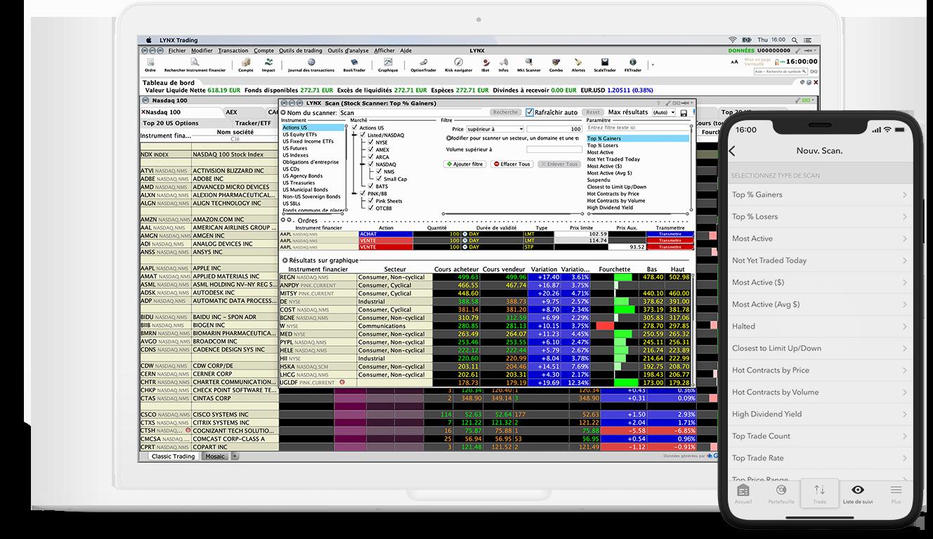 MarktScanner : un outil unique pour un aperçu de toute les actions
